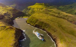 Polynésie : le cargo-mixte Aranui 5 continue à naviguer