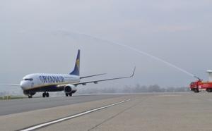 Ryanair inaugure sa liaison Clermont-Ferrand/Bruxelles ce 2 avril 2013