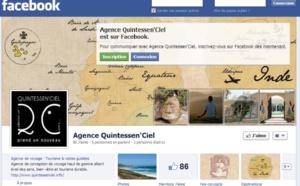 """IV. Quintessen'Ciel, """"Facebook permet à l'agence d'avoir une meilleure visibilité"""""""