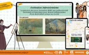 """Normandie : le 1er e-learning """"Destination Impressionnisme"""" est disponible pour les pros du tourisme"""