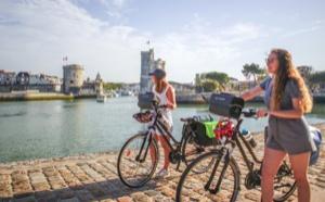 La Vélodyssée®, c'est plus de 1200 km d'itinéraire vélo entre Roscoff et Hendaye, dont 150 km sur le littoral des Charentes. DR : Aurelie Stapf