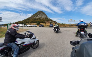 Ardèche Moto Découverte propose des balades à moto en Ardèche et dans la Drôme, principalement dans le Vercors  - DR : Ardèche Moto Découverte