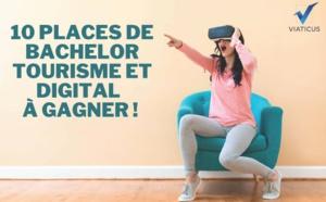 Viaticus et ses partenaires offrent une année Bachelor Tourisme & Digital à 10 étudiants !