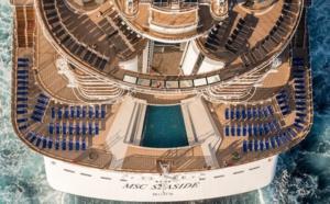 MSC Croisières : pour la 1er fois le MSC Seaside sera en Europe