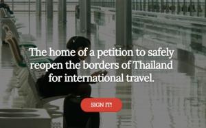 Thaïlande : les professionnels se mobilisent pour une reprise du tourisme le 1er juillet 2021 !