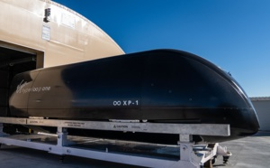 Virgin Hyperloop : le véhicule «Pegasus» sera exposé au l'exposition Smithsonian FUTURES