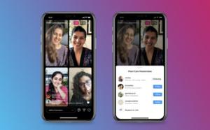 Instagram se lance dans les visioconférences... [pour le moment] en petit comité