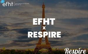 L'EFHT s'associe avec Respire pour créer le Tourisme de Demain