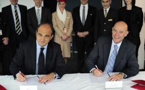 Aéroports de Lyon signe un SLA avec Emirates