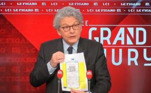 """Thierry Breton : """"le certificat sanitaire devrait être disponible à la mi-juin"""""""