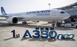 Corsair : arrivée du nouveau A330-900, 1er avion d'une série de 5 commandés