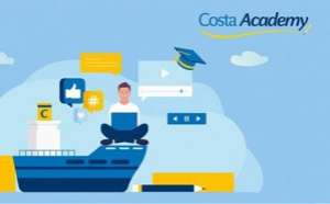 Formation : Costa innove et sort la nouvelle « Costa Academy »