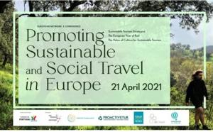 """""""Les oiseaux de passage"""" organise une e-conference sur le thème """"Promouvoir un tourisme social et écologique en Europe"""""""