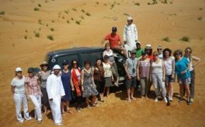 Quinze agents Havas Voyages à la découverte du Sultanat d'Oman