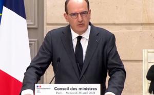 """Frontières, pass sanitaire, lieux accueillant du public : un projet de loi de """"sortie de crise"""" sera présenté au Parlement"""
