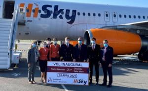 HiSky, la compagnie aérienne moldave, débarque à l'aéroport Paris-Beauvais