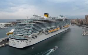 Croisières : le Costa Smeralda a repris la mer le 1er mai