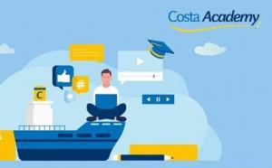 Formation Costa Croisières : déjà 3 modules disponibles dans la « Costa Academy »
