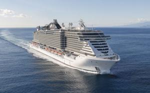 Méditerranée : le MSC Seaside a repris la mer