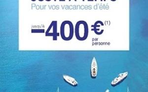Jet tours : réductions de 400 € dans les Clubs Eldorador jusqu'au 30 juin 2013
