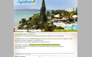 Karibea met en jeu des séjours aux Antilles dans son challenge de ventes