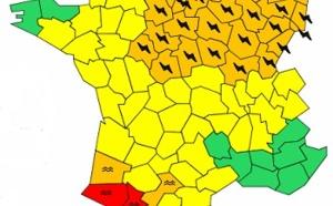 Météo France : près de 40 départements du Nord-Est en vigilance orange aux orages