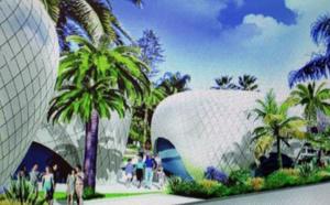 Monaco : les commerces de luxe hébergés dans des galets géants