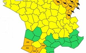 Météo France : 19 départements du Nord-Est en vigilance orange aux orages