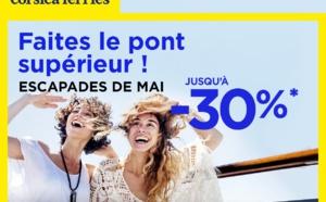"""Corsica Ferries propose une offre spéciale pour les """"courts séjours"""""""