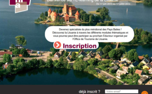 Lituanie : l'Office de Tourisme lance un e-learning