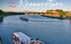 Avignon : La Compagnie des Grands Bateaux de Provence reprend du service