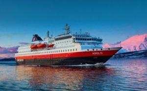 Le MS Nordlys reprendra son service à Bergen le 4 juillet 2021 - DR : Hurtigruten