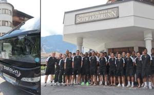 Autriche : le FC Lorient prépare la reprise à l'hôtel Schwarzbrunn
