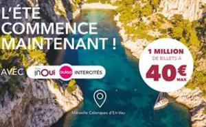 SNCF : TGV, Ouigo et Intercités des billets à 40€ maxi en juin