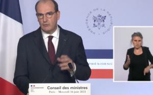 Jean Castex : fin du couvre-feu et du port du masque en extérieur en France