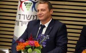 Israël : Yoel Razvozov, nouveau ministre du tourisme