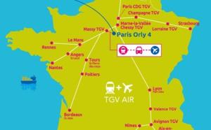 """Air France et SNCF ajoutent 7 nouvelles liaisons à leur offre """"Train + Air"""""""