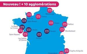 10 nouveaux réseaux de transport en commun rejoignent l'Assistant SNCF
