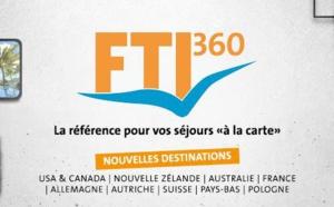 """Sur-mesure : FTI360 s'enrichit de 13 nouvelles destinations pour ses itinéraires """"à la carte"""""""