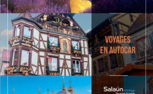 """Salaün Holidays fait paraître deux brochures """"Autocars"""" spéciales France et Europe"""