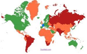 Pays verts, orange et rouges : quels sont les 10 nouveaux pays à passer au vert ?