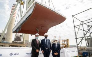 Le MSC Seascape devrait entrer en service en novembre 2022