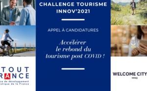 Challenge TOURISME INNOV'2021 : la remise des prix aura lieu le 7 juillet