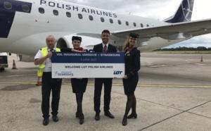 LOT Polish Airlines débarque à l'aéroport de Strasbourg