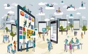 Selon l'Arcep la crise a démultiplié les usages du numérique et provoqué l'envolée de l'achat en ligne - Crédit photo : Jesussanz