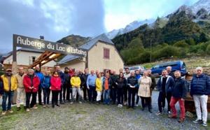 En 2020, ATR avait confié l'organisation de son 10e séminaire à La Balaguère. Plus de 50 participants s'étaient retrouvés dans le Val d'Azun (Hautes Pyrénées) - DR : ATR