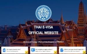 Thaïlande: le visa entièrement en ligne, c'est pour la fin de l'année !