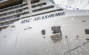 MSC Croisières prend livraison du MSC Seashore