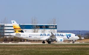 La Réunion : Air Austral prend livraison du premier de ses trois A220-300