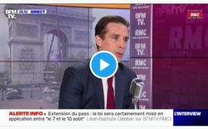 Jean-Baptiste Djebbari a annoncé que le pass sanitaire entrera en vigueur dans les transports : trains, avions, autocars entre le 7 et le 10 août 2021 - DR